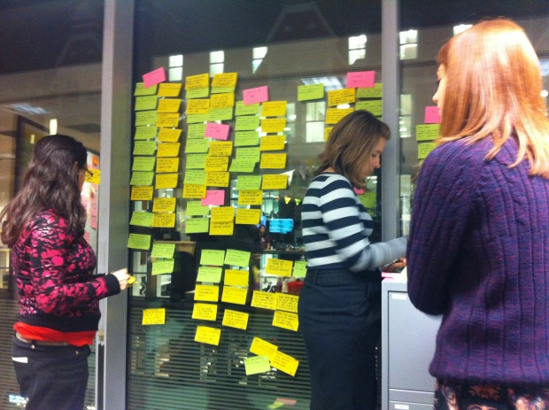 A GDS team affinity mapping
