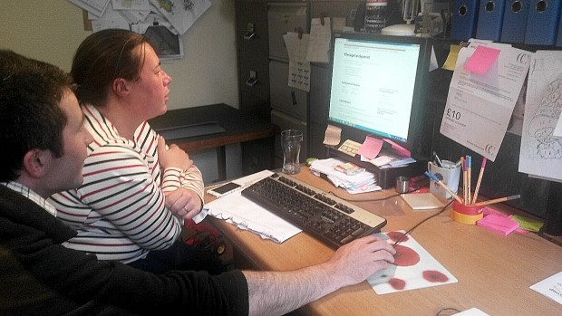 CAP delivery user research with farmers in their office