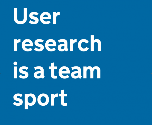 User research is a team sport